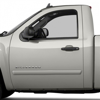 Chevrolet Silverado Painted Body Side Moldings, 4pc  2007 - 2013