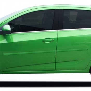 Chevrolet Sonic Painted Body Side Moldings, 2012, 2013, 2014