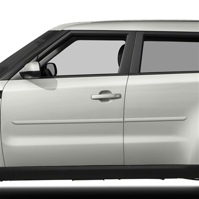 Kia Soul Painted Body Side Moldings, 2014, 2015, 2016, 2017