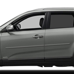 Kia Sorento Painted Body Side Moldings, 2011, 2012, 2013, 2014, 2015