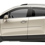 Chevrolet Trax Painted Body Side Moldings, 2015, 2016, 2017, 2018