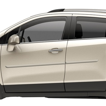 Chevrolet Trax Painted Body Side Moldings, 2015, 2016, 2017