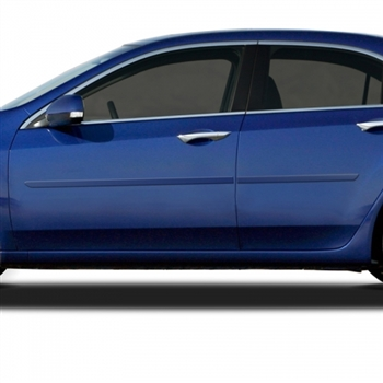 Acura TSX Painted Body Side Moldings, 2009, 2010, 2011, 2012, 2013, 2014