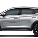 Hyundai Tucson Painted Body Side Moldings, 2016, 2017