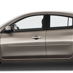 Nissan Versa Painted Body Side Moldings, 2007, 2008, 2009, 2010, 2011, 2012, 2013, 2014, 2015, 2016, 2017, 2018