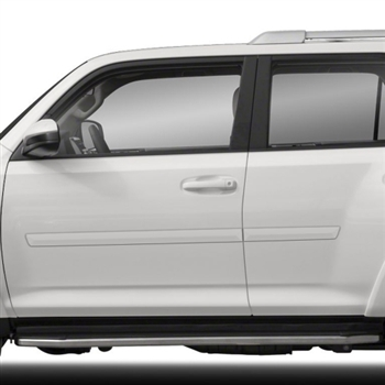 Toyota 4Runner Painted Body Side Moldings, 2010, 2011, 2012, 2013, 2014, 2015, 2016, 2017