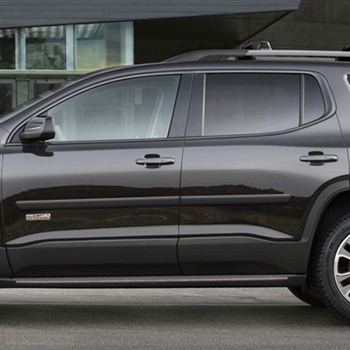 GMC Acadia Painted Body Side Moldings, 2017, 2018