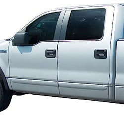 Ford F150 Super Cab Painted Body Side Moldings, 2004, 2005, 2006, 2007, 2008