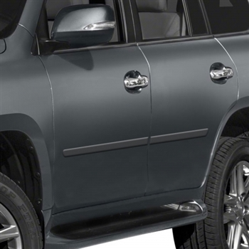 Lexus GX460 Painted Body Side Moldings, 2010, 2011, 2012, 2013, 2014, 2015, 2016, 2017, 2018