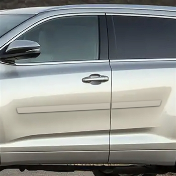 Toyota Highlander Painted Body Side Moldings, 2014, 2015, 2016, 2017, 2018