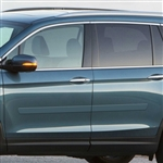 Honda Pilot Painted Body Side Moldings, 2016, 2017, 2018