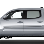 Toyota Tacoma Middle Door Painted Body Side Moldings, 2005, 2006, 2007, 2008, 2009, 2010, 2011, 2012, 2013, 2014, 2015, 2016, 2017, 2018