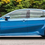 Toyota Camry Painted Body Side Moldings (beveled design), 2018, 2019
