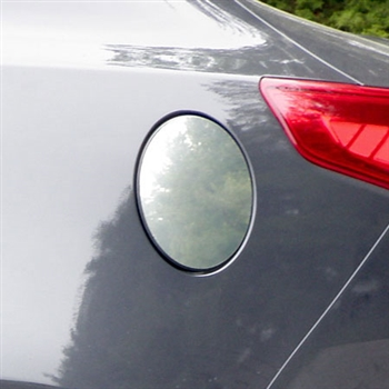 Kia Optima Chrome Fuel Door Trim, 2011, 2012, 2013, 2014, 2015