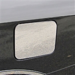 Nissan Versa Sedan Chrome Fuel Door Trim, 2012, 2013, 2014, 2015, 2016