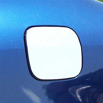 Toyota Corolla Chrome Fuel Door Trim, 2003, 2004, 2005, 2006, 2007, 2008