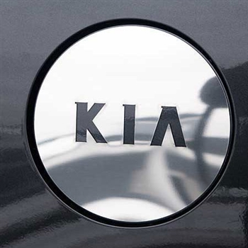 Kia Amanti Chrome Fuel Door Cover (w/ KIA Cut out), 2004-2009