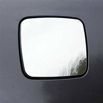 Kia Optima Chrome Fuel Door Trim, 2006.5 - 2010