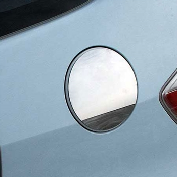 Honda Fit Chrome Fuel Door Trim, 2009 - 2013