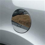 Honda Pilot Chrome Fuel Door Trim, 2009, 2010, 2011, 2012, 2013, 2014