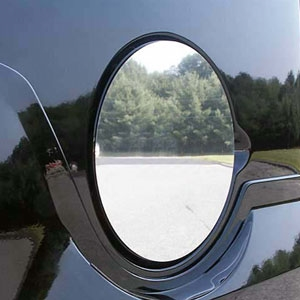 GMC Yukon Chrome Fuel Door Overlay, 2007, 2008, 2009, 2010, 2011, 2012, 2013, 2014