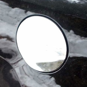 Chevrolet Malibu Chrome Trim Fuel Door Overlay, 2008-2012