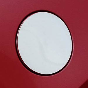Buick Lacrosse Chrome Fuel Door Cover, 2010, 2011, 2012, 2013, 2014, 2015, 2016