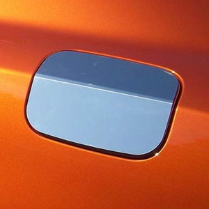 Dodge Charger Chrome Fuel Door Overlay, 2015, 2016, 2017