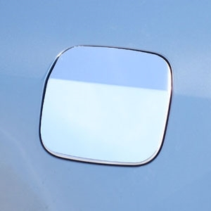 Cadillac ATS Chrome Fuel Door Trim, 2015, 2016, 2017, 2018