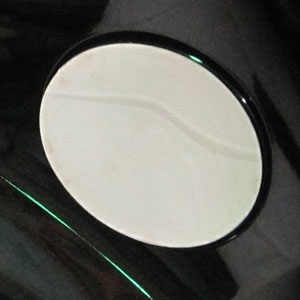 Ford Explorer Chrome Fuel Door Trim, 2016, 2017, 2018
