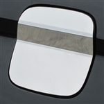 Lincoln MKX Chrome Fuel Door Trim, 2016