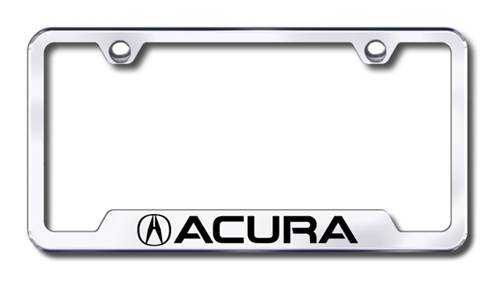 Automobile license plate frame