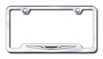 Chrysler Logo Chrome License Plate Frame