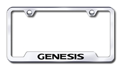 Hyundai Genesis Premium Chrome License Plate Frame