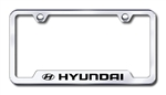 Hyundai Premium Chrome License Plate Frame