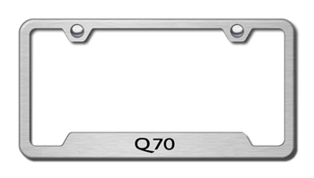 Infiniti Q70 Chrome License Plate Frame
