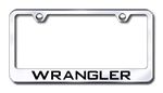 Jeep Wrangler Premium Chrome License Plate Frame