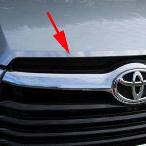 Toyota Highlander Chrome Hood Trim, 2014, 2015, 2016
