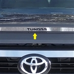 Toyota Tundra Chrome Hood Accent Trim, 2014, 2015, 2016, 2017