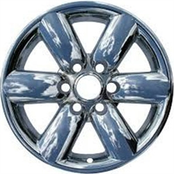 Nissan Armada Chrome Wheel Covers, 4pc. Set, 2008, 2009, 2010, 2011, 2012, 2013, 2014, 2015