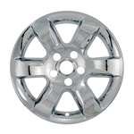 Nissan Altima Snap-In Chrome Wheel Covers, 4pc. Set, 2007, 2008, 2009