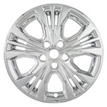 Chevrolet Impala Snap In Chrome Wheel Covers, 2014, 2015, 2016, 2017, 2018