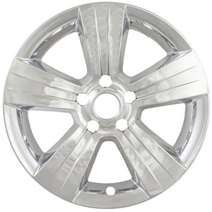 Jeep Patriot Snap In Chrome Wheel Covers, 2011, 2012, 2013, 2014, 2015, 2016
