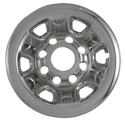 Chevrolet Silverado 2500 Snap In Chrome Wheel Covers, 4pc 2004 - 2010