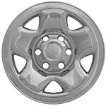 Toyota Tacoma Chrome Wheel Covers, Access and Double Cab,  2005, 2006, 2007, 2008, 2009, 2010, 2011, 2012, 2013, 2014, 2015