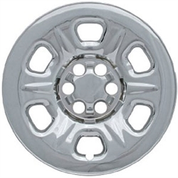 Nissan Frontier Snap In Chrome Wheel Covers - IMP-71X, 2005, 2006, 2007, 2008, 2009, 2010, 2011, 2012, 2013, 2014, 2015, 2016, 2017