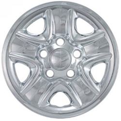Toyota Tundra Snap-In Chrome Wheel Covers, IMP-77X, 2007, 2008, 2009, 2010, 2011, 2012, 2013, 2014