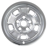 "Dodge Ram 1500 Chrome 17"" Wheel Covers (Steel Wheel), 2013, 2014, 2015, 2016, 2017"