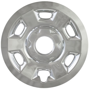 Chevrolet Colorado Chrome Wheel Covers, 2015, 2016