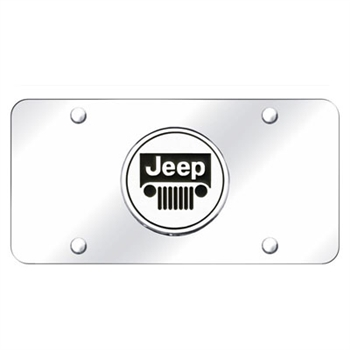 Chrome License Plate - JEEP
